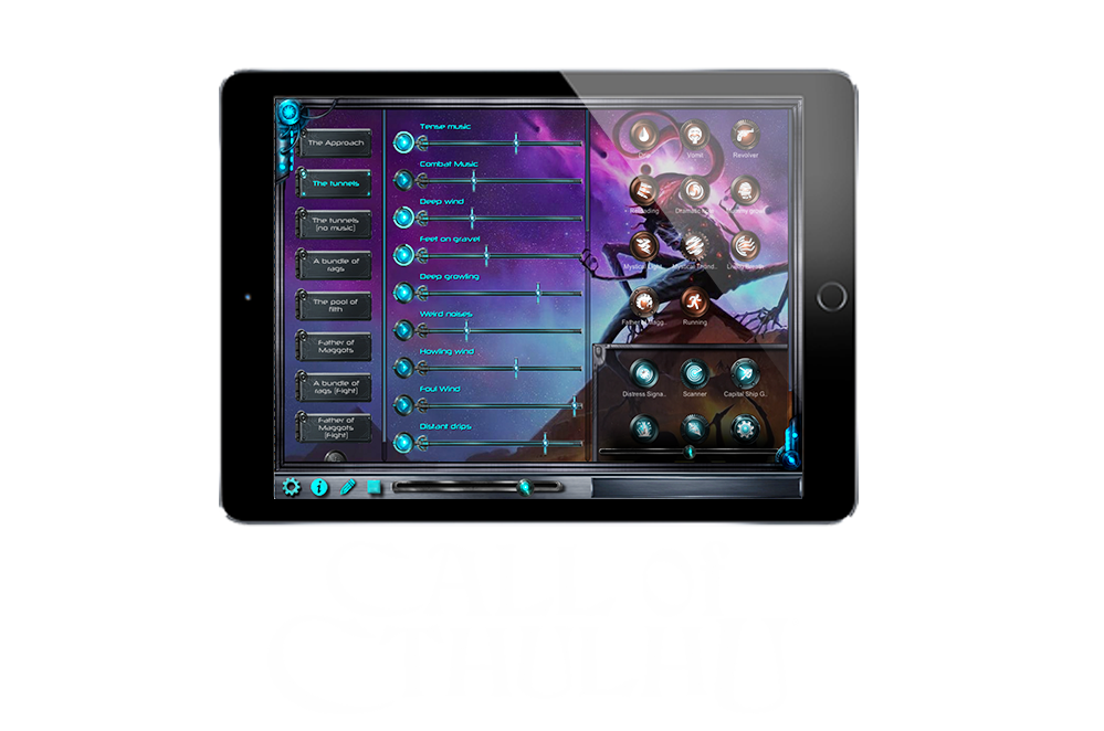 Find sounds for the Call of Cthulhu RPG