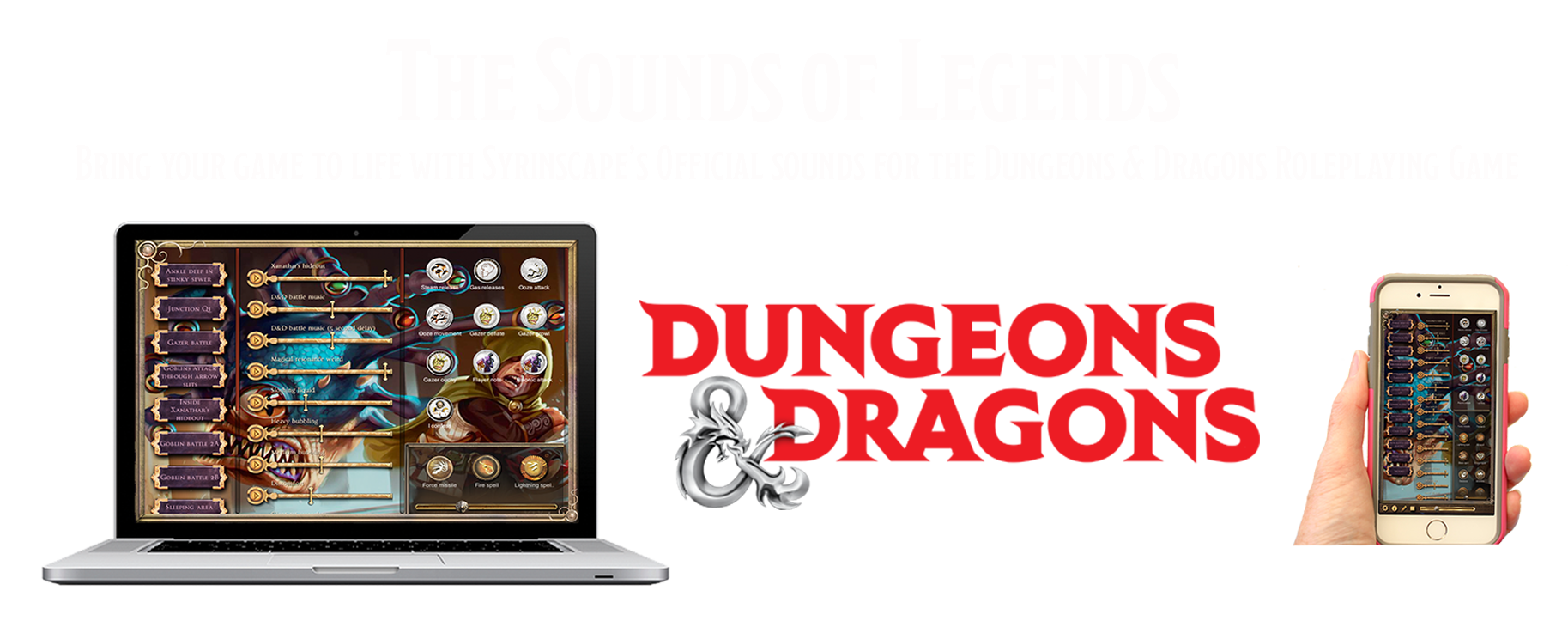 Bring your Dungeons and Dragons games to life with the official Dnd sounds
